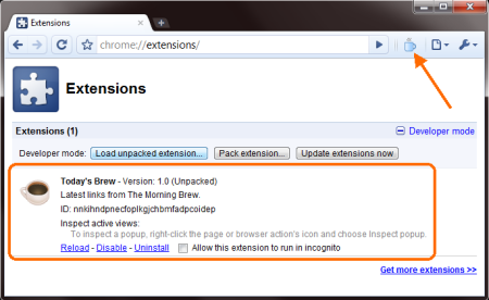 Chrome Extension Development :: Sergio and the sigil